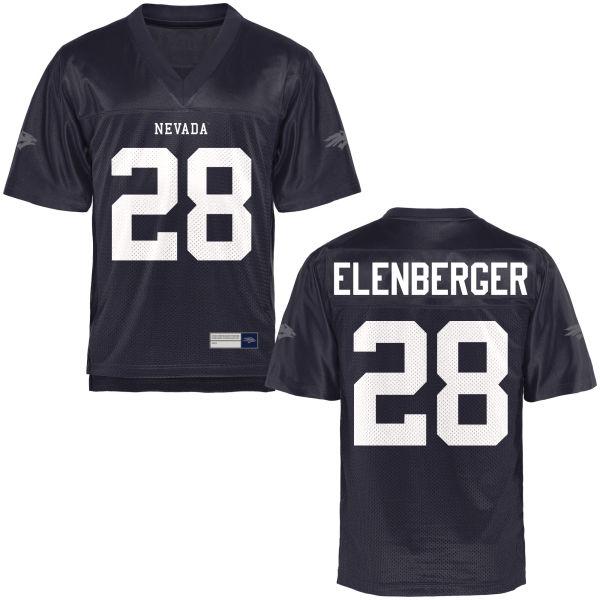 Men's Jason Elenberger Nevada Wolf Pack Limited Navy Blue Football Jersey