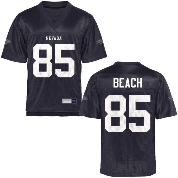 Women's Miles Beach Nevada Wolf Pack Replica Navy Blue Football Jersey